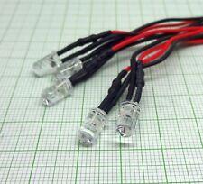 5 X UV LED mit Kabel.(24V, UV, 5mm,fertig verkabelt) VERSAND FREI! E889-