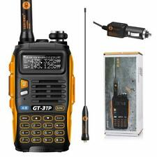 2 Way Digital Transceiver Handheld Radio Scanner Ham Vhf Uhf Fire Antenna Listen