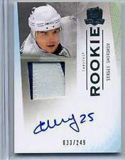 2009-10 The Cup Sergei Shirokov Autograph Patch RC / 249