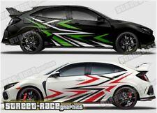 Honda Civic Rally 019 racing motorsport graphics stickers decals vinyl