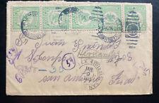 1914 Monterrey Mexico cover To San Antonio Tx USA