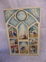 Vintage Hallmark Advent Calendar The Other Wise Man 1950s RARE Henry Van Dyke