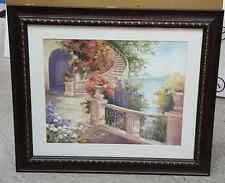 "Brand New Princess House Vista Paraiso Print Picture ""View of Paradise"""