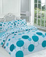 Night Zone Noah Teal Double Complete Bedding Duvet Set