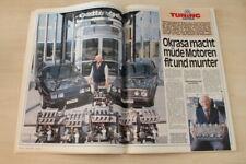 Auto Bild 17498) VW Golf II CL 1.6 Oettinger mit 99PS im Fahrbericht auf einer