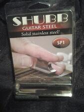 New Shubb SP1 Pearse Guitar Stainless Steel Bar, Semi-Bullet Tip Cutaway NIB