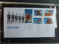 2007 AUSTRALIA LIFE SAVING SET 5 STAMPS STAMPS FDC FIRST DAY COVER