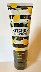 Bath And Body Works Kitchen Lemon Hand Cream 4oz New