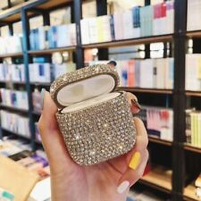 Bling Diamonds Shell for Apple Airpods Cover Protective Earphone Charger Case 12