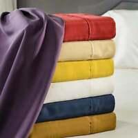 100% Pure Mulberry Silk 15MM Sand Washed Matte Silk Sheet Set 4pc