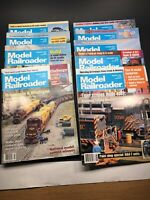 Model Railroading Magazine - 1995 - 9 Issues