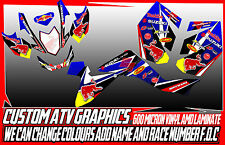 SUZUKI LTR LTZ INCLUDING FI 400/450 GRAPHICS DECALS ATV QUAD ALL YEARS