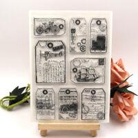 Vinatge Transparent Clear Silicone Stamp Seal DIY scrapbooking photo album craft