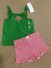 New gymboree tickled pink alligator outfit shirt shorts top size 4 4t