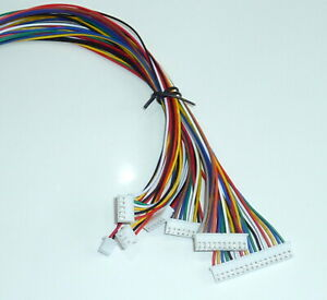 JST XH2.50mm Connector Plug Wire Cable Cord 300mm + pcb mount socket