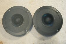 More details for peerless lr-10dt hifi tweeters x2, used, tested, 8 ohms, 1980's, vgc.