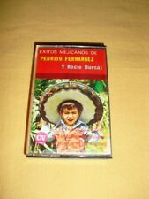Exitos Mejicanos de Pedrito Fernandez Cassette audio Tape