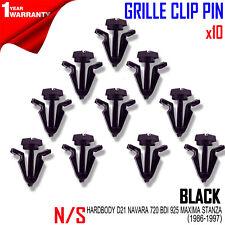For NISSAN HARDBODY D21 NAVARA 720 BDI 925 MAXIMA STANZA 86-97 GRILLE CLIP PIN