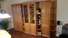 Komplettes Wohnzimmer + Esszimmer Musterring Serie Delta/SL Erle massiv