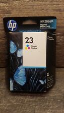 Genuine HP 23 Tri-Color Ink Cartridge C1823D Expired 2011 Factory Sealed in Box