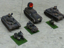 Roco Minitanks Pro Painted WWII German SS Armored Recon Tank Platoon Lot #386X