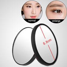 1X 5/10/15x Grossissant Miroir Rond Maquillage Poche Sac Cosmétique Ventouse NF