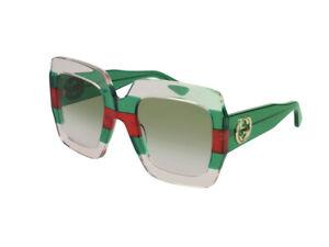 Sunglasses Gucci GG0178S  green gradient  001