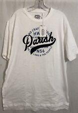 Parish Nation LTD... Men's Crew Neck T-Shirt .. White/Blue.  2XL.. New