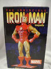 MARVEL  IRON MAN MAQUETTE  # 348/2000  STATUE W/BOX & COA AVENGERS HULK Thor