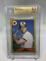 1987 Topps #784 Cal Ripken Beckett BGS 9.5 Gem Mint Baltimore Orioles