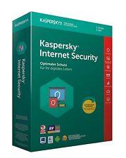 KASPERSKY INTERNET SECURITY 2018 5 PC / Geräte  1 Jahr Vollversion