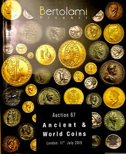 Bertolami Antiquities 11 July 2019 Auction 67 Ancient & world Coins ARCHEOLOGIA