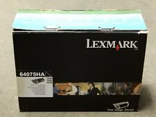 Lexmark 64075HA Black High Yield Toner Cartridge T640 T642 Genuine New Open Box