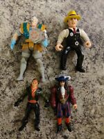 90s Lot Of Action Figures Dick Tracy, hook, xforce marvel Kenner toybiz