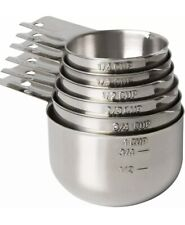 Measuring Cups Stainless Steel 6 Piece Stackable Set