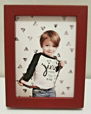"""Red Wood Picture Photo Frame 2.5"""" X 3.5"""" Or 2""""X3"""" with Mat"""