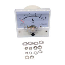 US Stock Analog Panel AMP Current Ammeter Meter Gauge 85C1 0-10A DC
