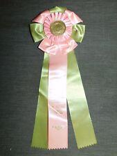 Vintage American Kennel Club 1978 Upstate Ny Cocker Spaniel Club Ribbon Award