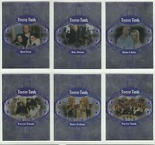 Charmed Forever Trading Cards Forever Family 6 Card Set. Mint Great Value (H)