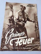 Illustrierte FILM-BÜHNE 'Grünes Feuer' Stewart Granger & Grace Kelly selten