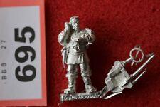 Imperial Guards Astra Militarum Regimental Advisor Metal Master of Ordinance VOX