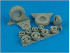 Wheeliant 1/32 F-14A Tomcat weighted wheels # 132004