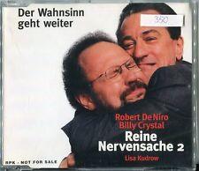 Robert De Niro CD PROMO audio PRESS KIT la follia continua © 2002