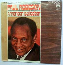 PAUL ROBESON american balladeer LP SEALED COPY!