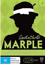Agatha Christie's Miss Marple : Season 4 (DVD, 2013, 4-Disc Set)(D113)