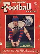 1948 ILLUSTRATED FOOTBALL ANNUAL MAGAZINE - BEDNARIK