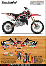 2003-2010 HONDA CR 85 BAD BOY Motocross Graphics  DIRT BIKE GRAPHICS DECO DECALS
