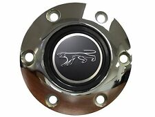 Mercury Cougar 3-D Foil Emblem with a Volante S6 Chrome Horn Button