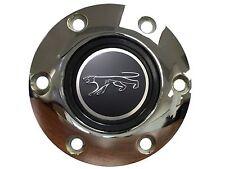 Mercury Cougar 3-D Foil Emblem with a Volante S6 Chrome Horn Button