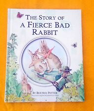 The Story of a Fierce Bad Rabbit by Beatrix Potter FREE AUS POST Hardback, 2002